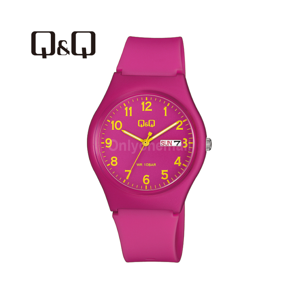 Q&Q A212J010Y 38mm Casual Analogue Watch