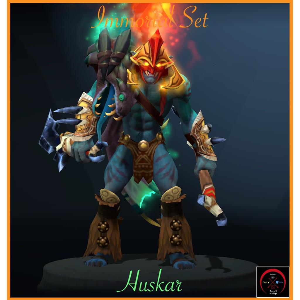 Dota 2 Huskar Immortal Set
