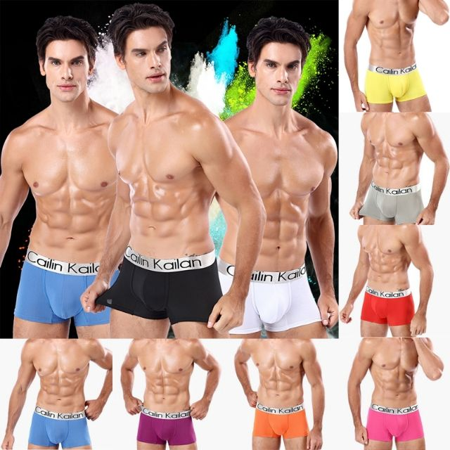 Men Underwear with Comfort and Breathable Cotton