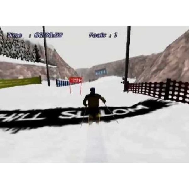PS2 Game Downhill Slalom, Racing Game, English version / PlayStation 2