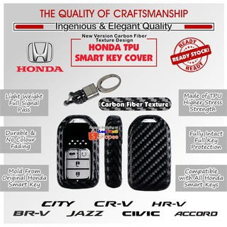 Honda Key Holder Cover Smart Key Protector For CITY ACCORD