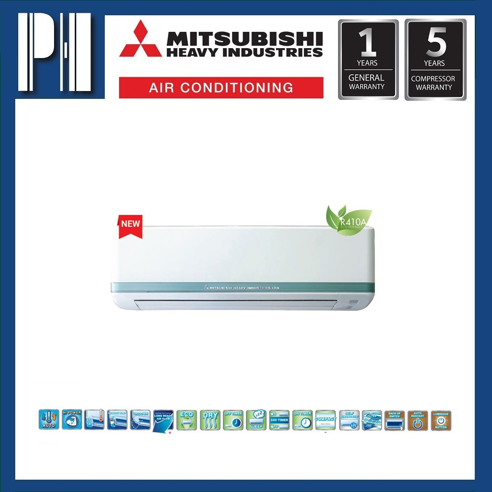 MITSUBISHI HEAVY INDUSTRIES SRK18CS-S4 2.0HP R410a NON-INVERTER AIR CONDITIONER