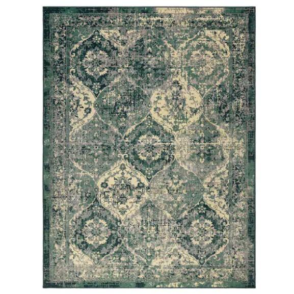 Original VONSBAK Rug, low pile, green, 170x230 cm