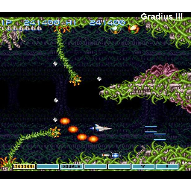 PS2 Game Gradius III and IV, English version, Shooting Game / PS3 Gradius