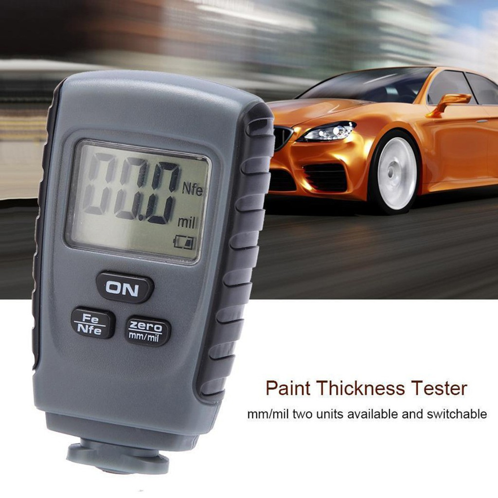 💗Dharma💗New RM660 LCD Digital Painting Thickness Meter Car