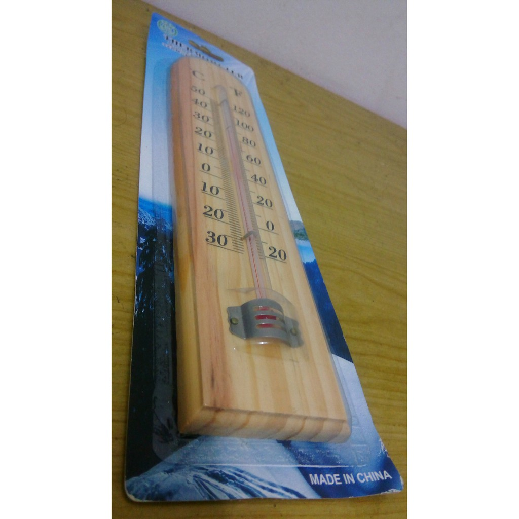 Wood Thermometer 02 - MXMY