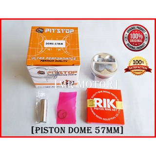Y15ZR/LC135 57MM DOME PITSTOP FORGED PISTON | Shopee Malaysia