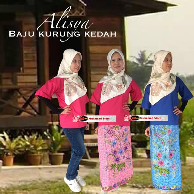 Alisya Baju Kurung Kedah