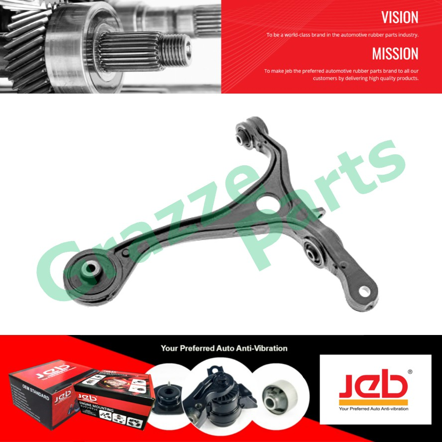 JEB RH Front Lower Control Arm 51350-SDA-A01 for Honda Accord SDA