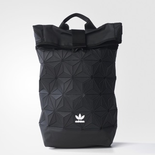 b044347923 Limited Edition Adidas x Issey Miyake 3D Urban Mesh Roll Up Black Backpack  Bag