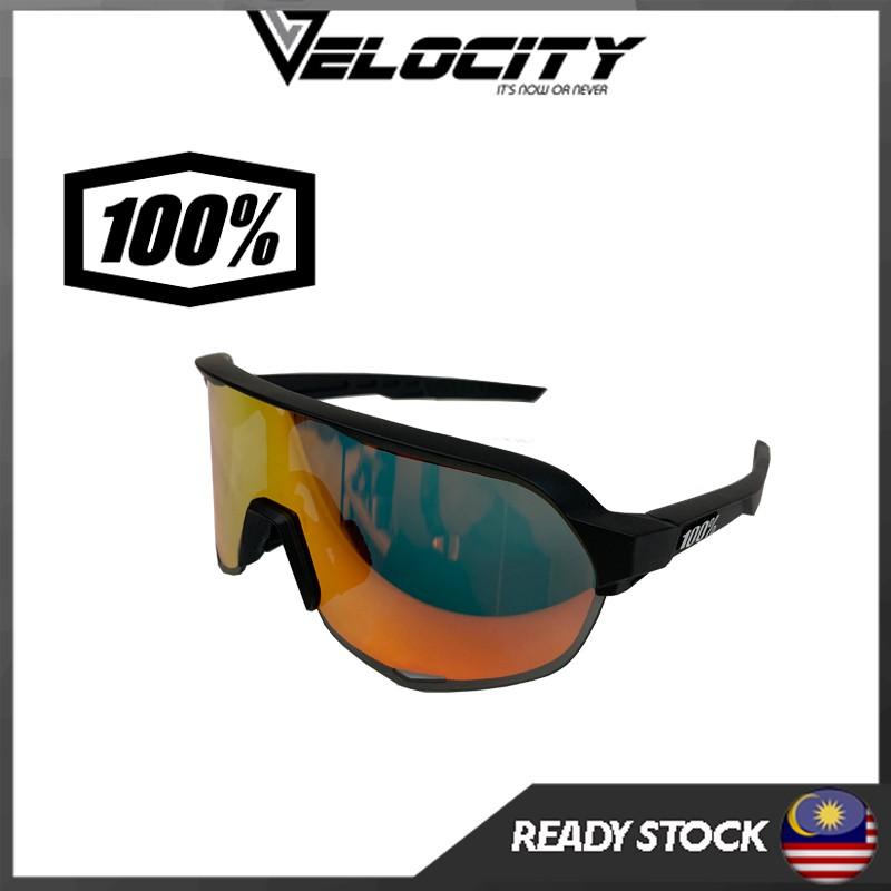 Ready Stock Cycling Glasses Men Women Sports Cycling Sunglasses Eyewear 100% S2