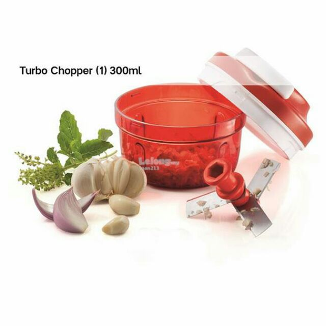 [READY STOCK] TUPPERWARE TURBO COOPER (1) 300ml