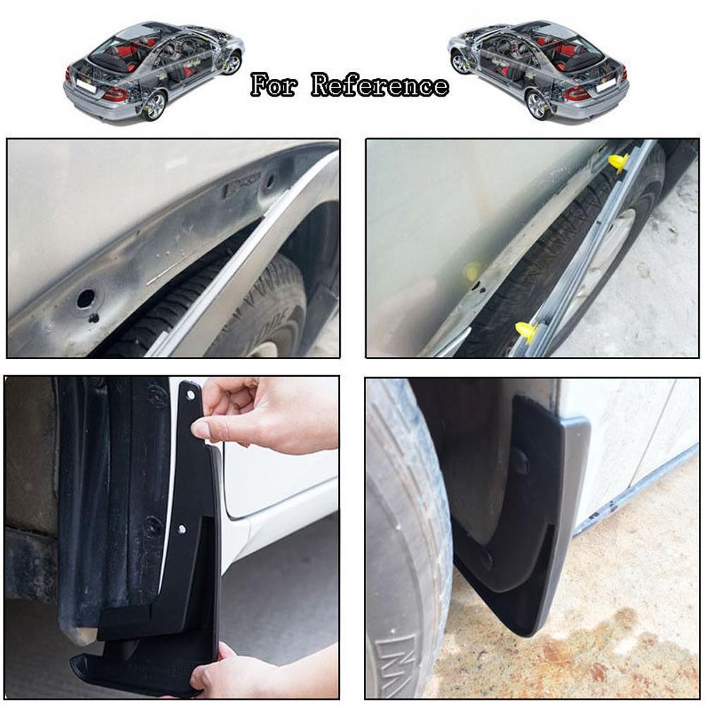 For Toyota Black Nylon Bumper Fender Hood Retainer Clip Fastener Reference 50Pcs