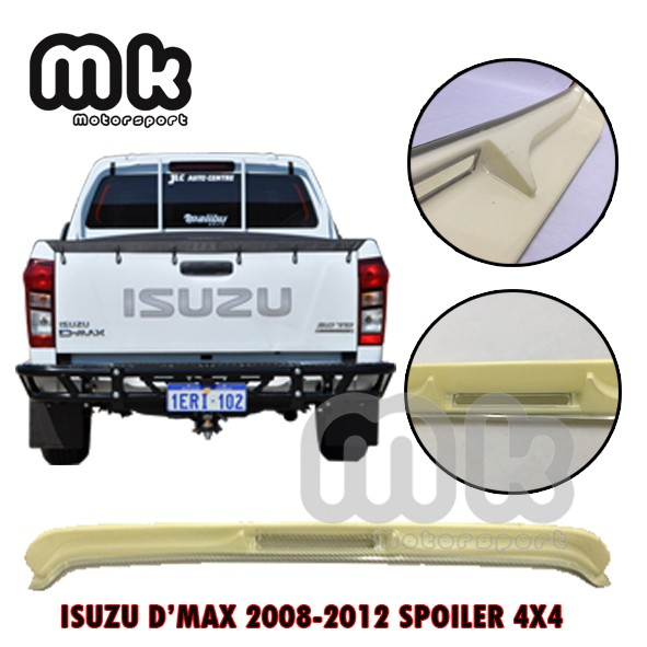 ISUZU D'MAX (2008-2012) SPOILER 4X4