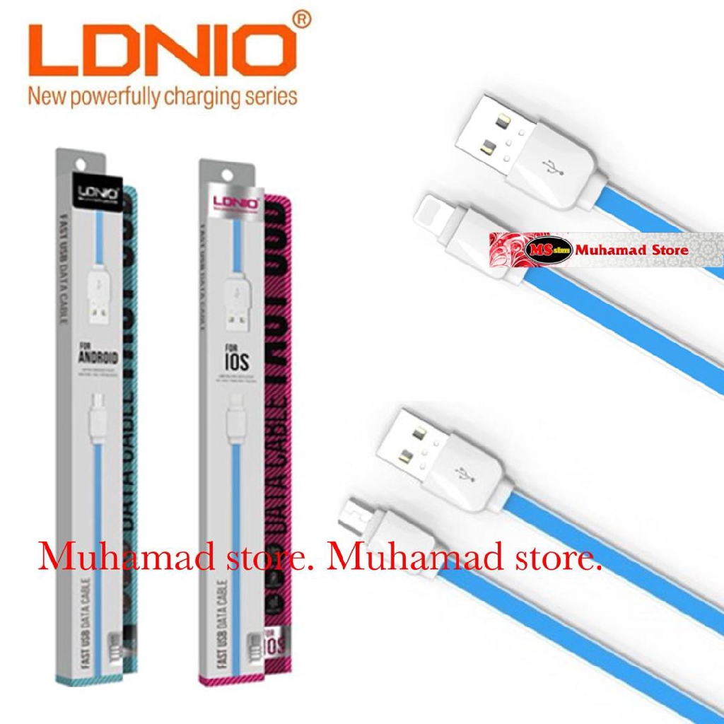 LDNIO USB Data Cable XS-07 / Fast Charge / High Speed Android Micro USB / iPhone / Type-C