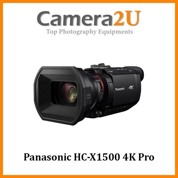 Panasonic HC-X1500 4K Pro Camcorder With 24x Zoom WiFi