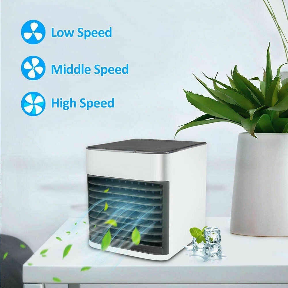 ARCTIC AIR ULTRA MINI OFFICE COOLER PORTABLE HOME HUMIDIFIER SMALL AIR CONDITIONING FAN EVAPORATIVE AIR FILTER COOLS PUR
