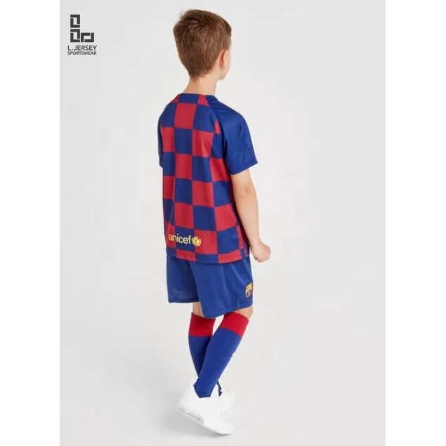Barcelona Kid Home Season 19/20 Stadium Fans Jersey