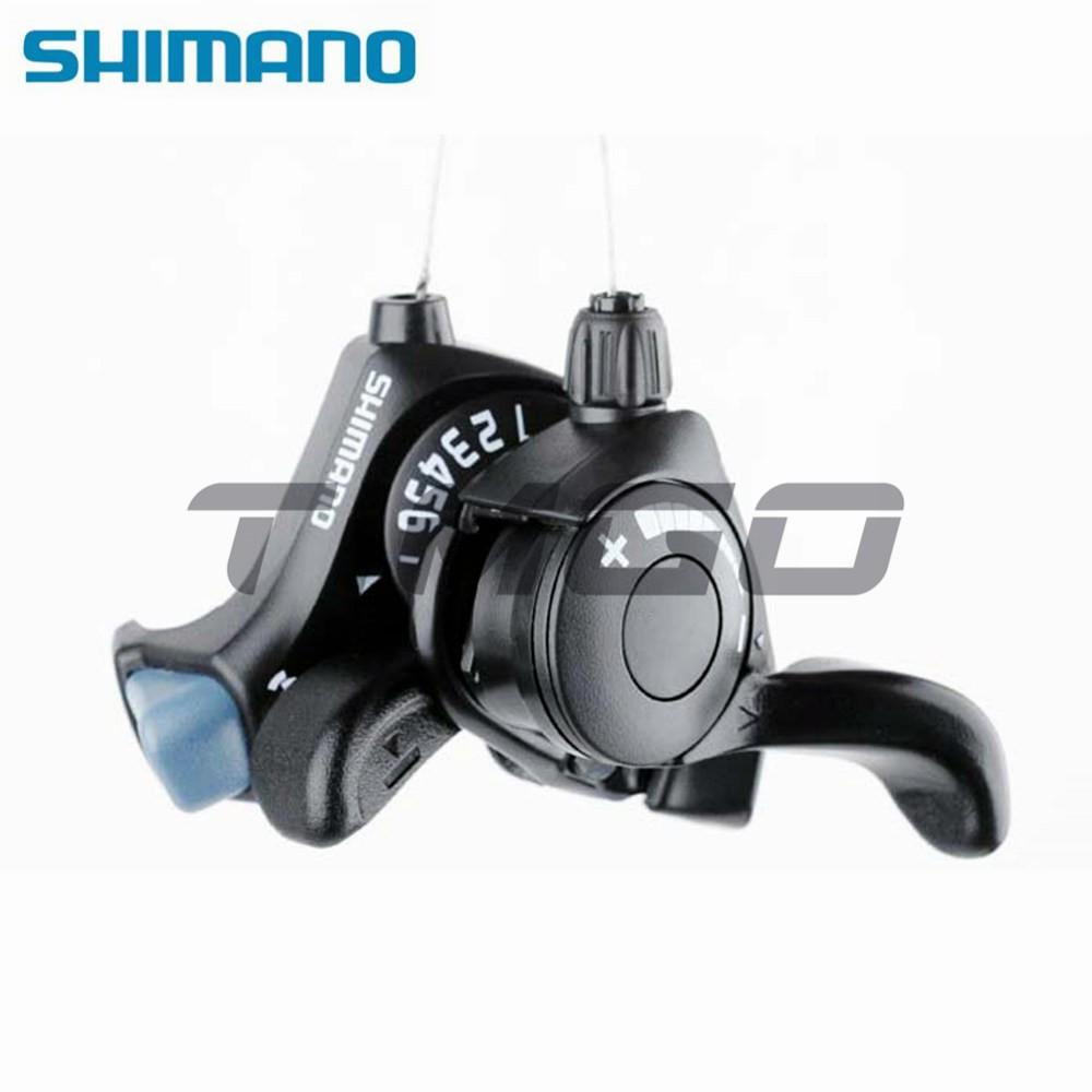 Shimano Tourney SL-TX30 3×7 Speed MTB Bike Thumb Gear Shifter Lever Black