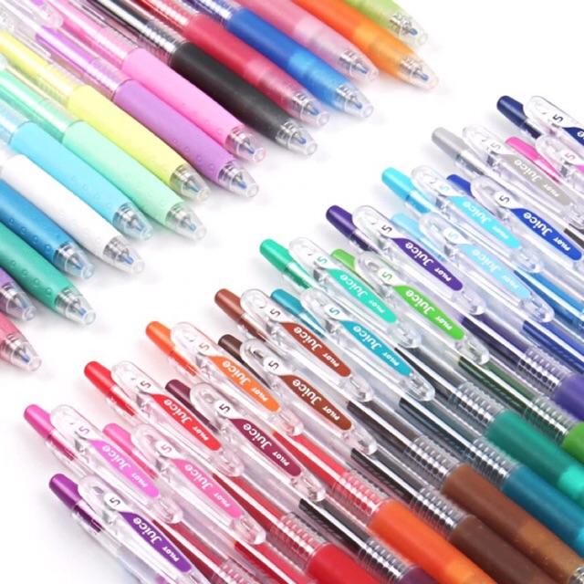 5 x Pilot Juice 0.38mm Ultra Fine Retractable Gel Ink Rollerball Pen Rose Pink