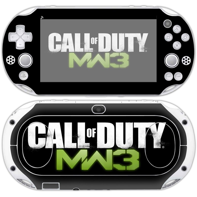 Call of Duty Vinyl Skin Sticker Protector For Sony PlayStation PSvita 2000  For PSv 2000 Decal Skin Stickers