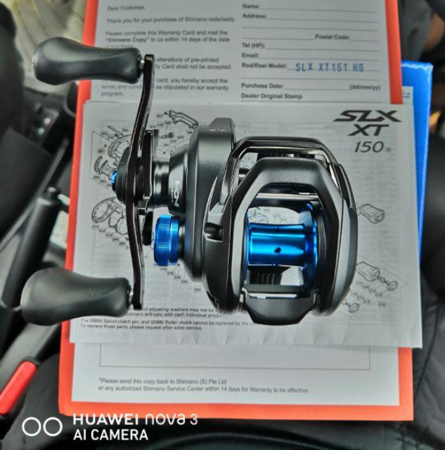SHIMANO 19' SLX XT BAITCASTING FISHING REEL