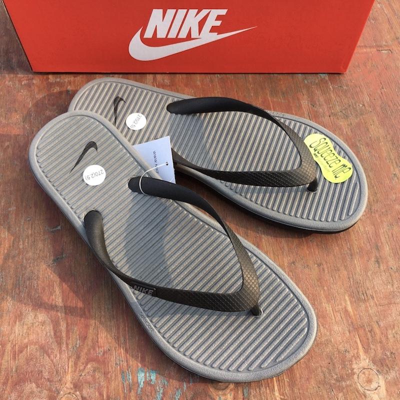 Unirse tenaz Interior  NIKE SOLARSOFT THONG 2 Men's Sports Slippers Beach Waterproof Flip Flops  488160   Shopee Malaysia