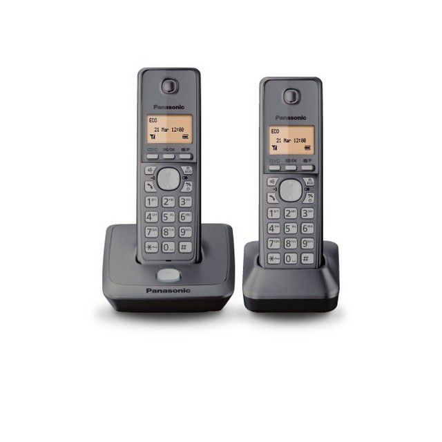 Panasonic TWIN KX-TG2712ML Digital Cordless Phone