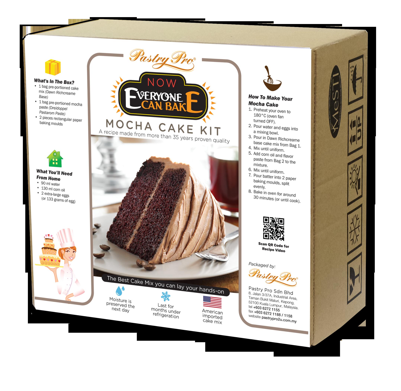 Now  Everyone Can Bake, Mocha Cake Kit