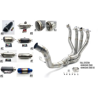 READY STOCK] KAWASAKI Z900 EXHAUST HEADER FULL SYSTEM