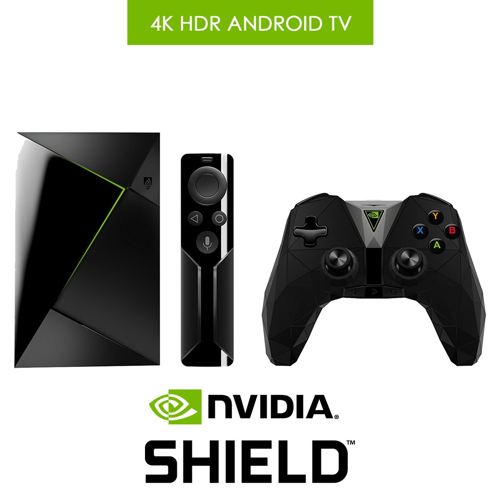 NVIDIA SHIELD TV | Streaming Media Player with Remote & Game  Controller-2017Ver
