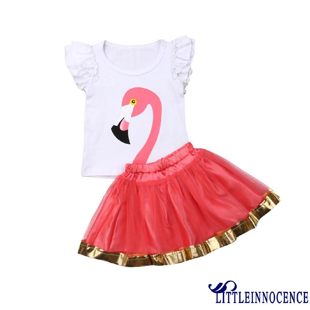 5e10f93cdfb6c ♛♚♛2PCS Kids Toddler Baby Girls Bird flying Sleeve Outfits ...