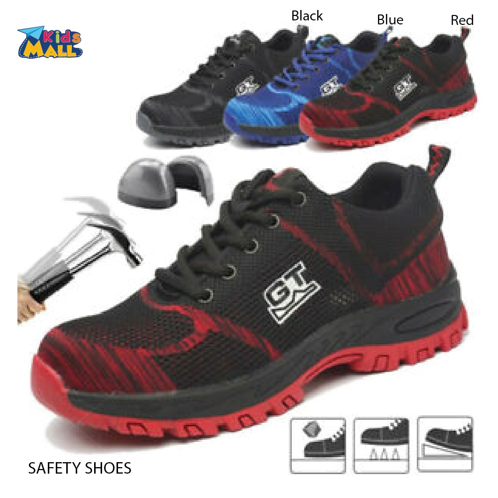 Mens Safety Shoes Work Boots Breathable Hiking Climbing Sport Fashion Sneakers