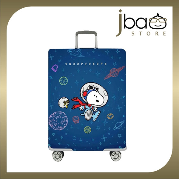 D.Beaner Elastic Travel Luggage Suitcase Protector Cover Snoopy