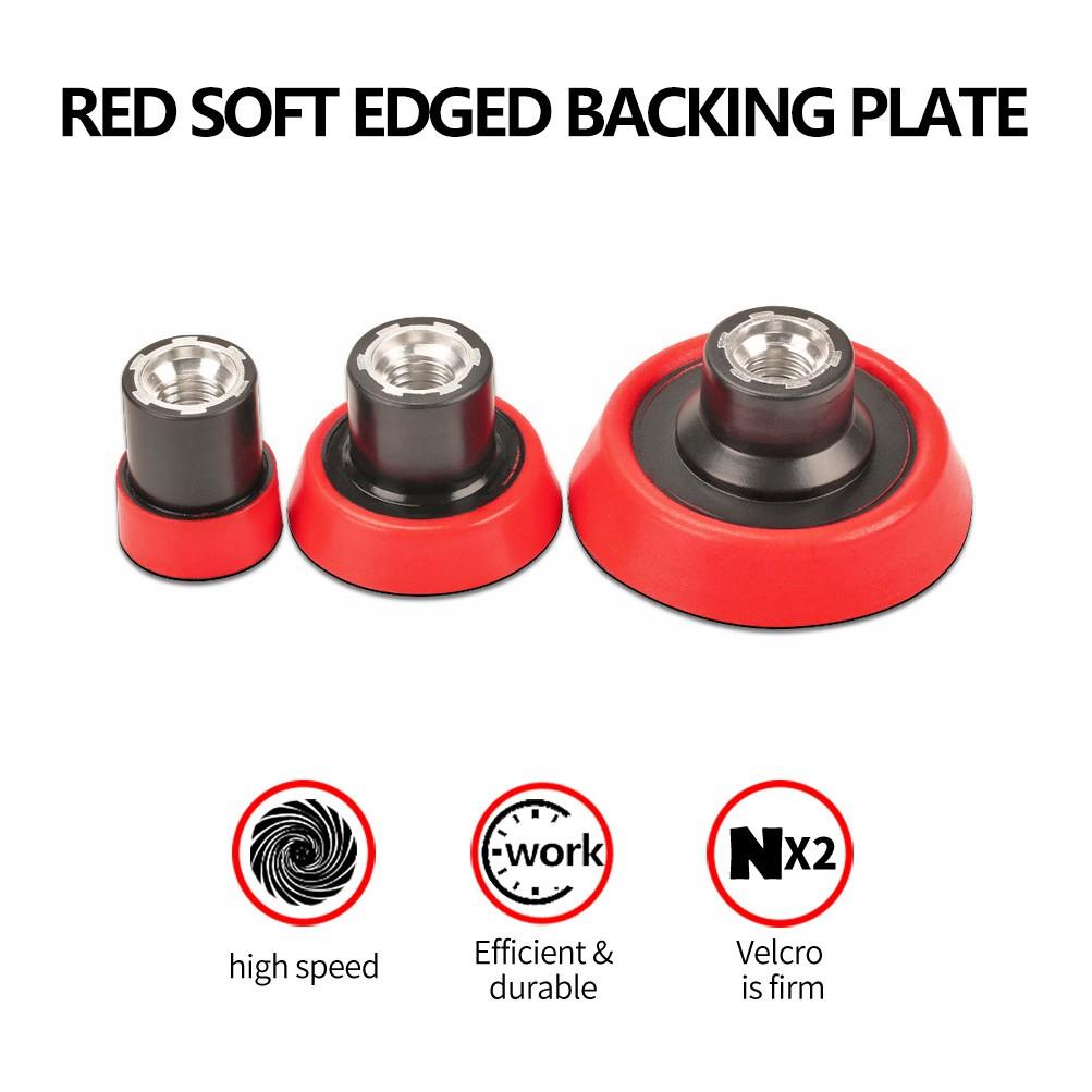 "2/""//3/"" Car Backer Pad Polish Backer Plate M14 Or 5//8-11 Thread Plastic for Sander"