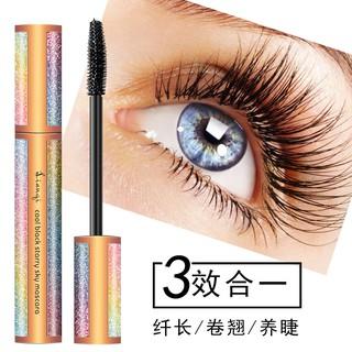 0957d188616 LIANQI 4D Star Eye Lashes Mascara Waterproof Eyelash Lengthening Black  Makeup