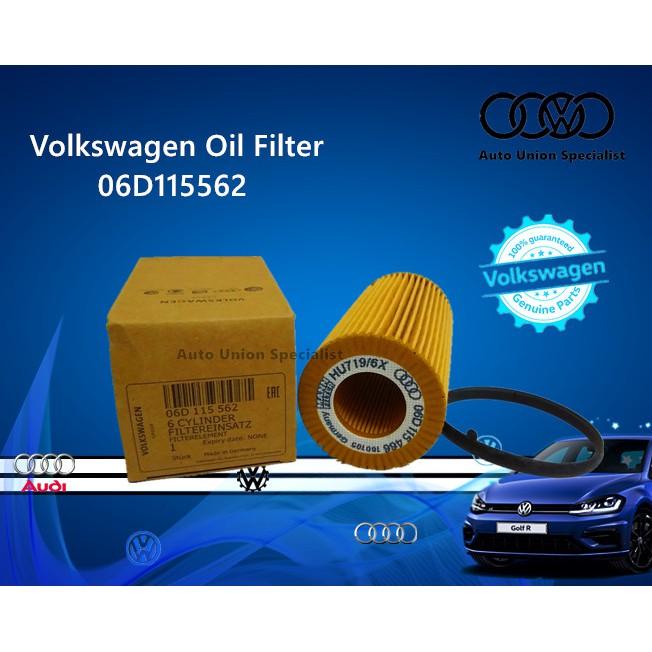VW Audi Volkswagen Oil filter 06D115562/06D 115 562 Golf R Audi A3 A4 TT
