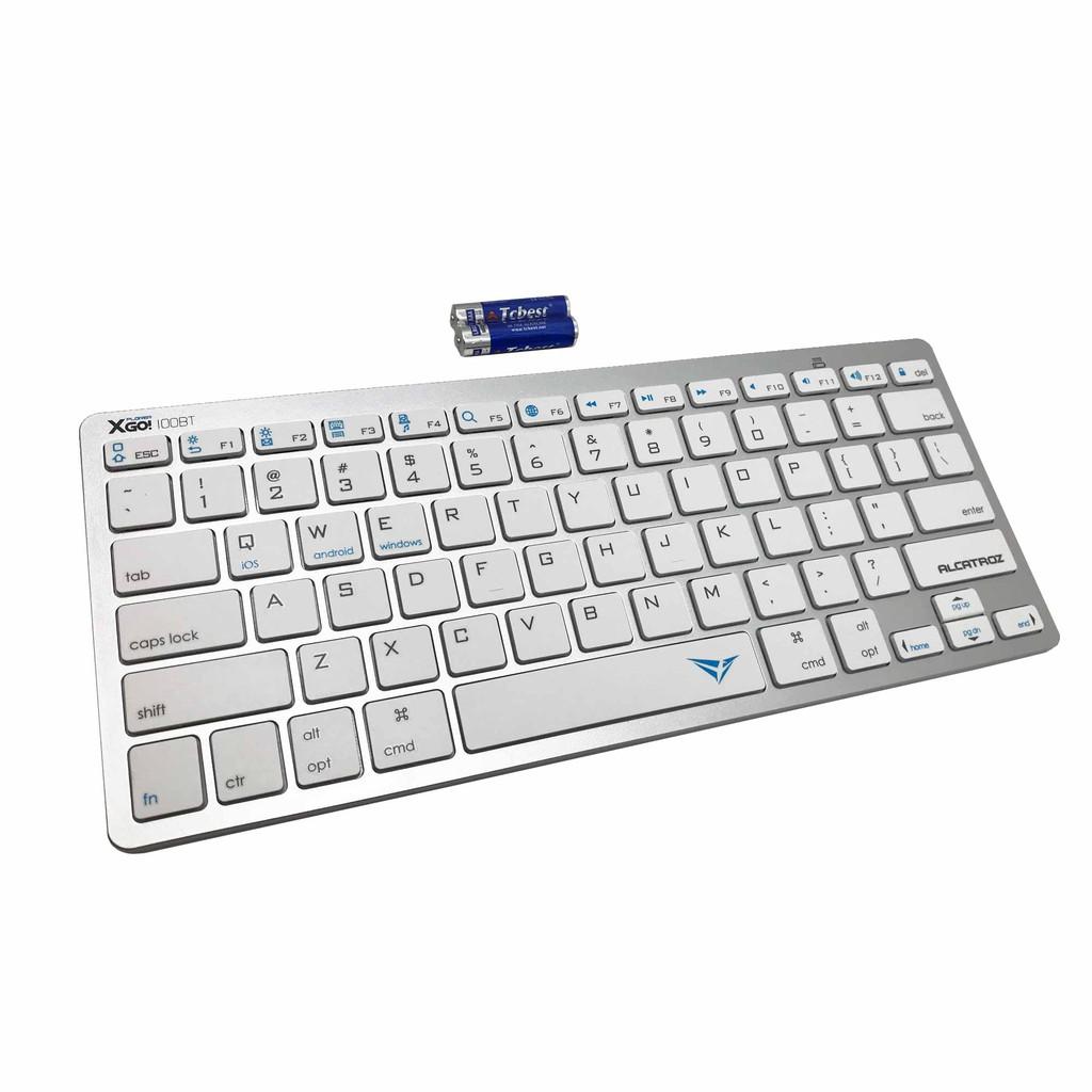 Alcatroz Xplorer Go! 100BT Wireless Keyboard + Pebble Air Bluetooth 2 4G  Duo Wireless Mouse