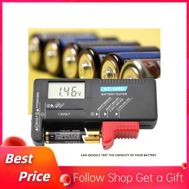 d Battery Tester For AA AAA 9V 1.5V 3V Battery Free Shipping BT 168