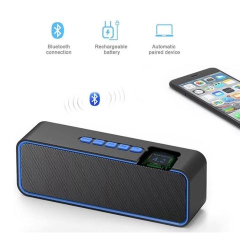 S11 TWS Speaker Edition Wireless Outdoor Bluetooth Speaker Cell Phone Subwoofer