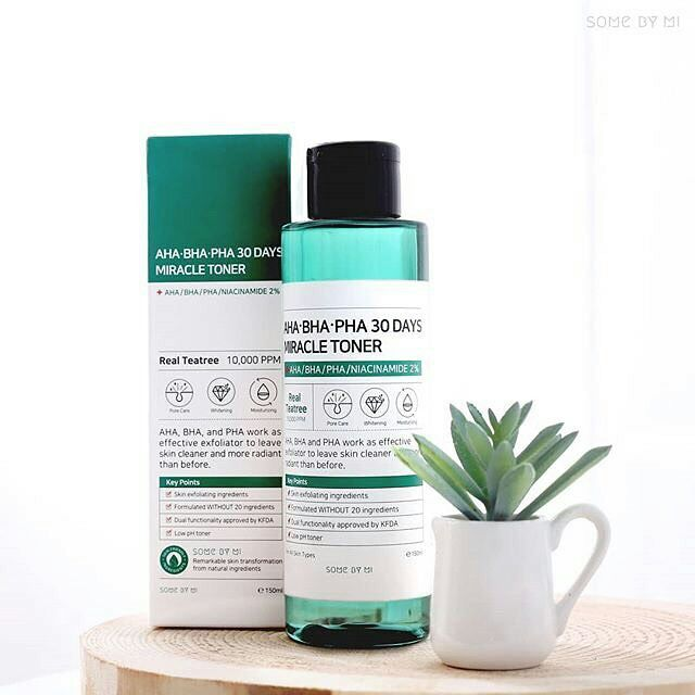 Image result for miracle toner by some by mi