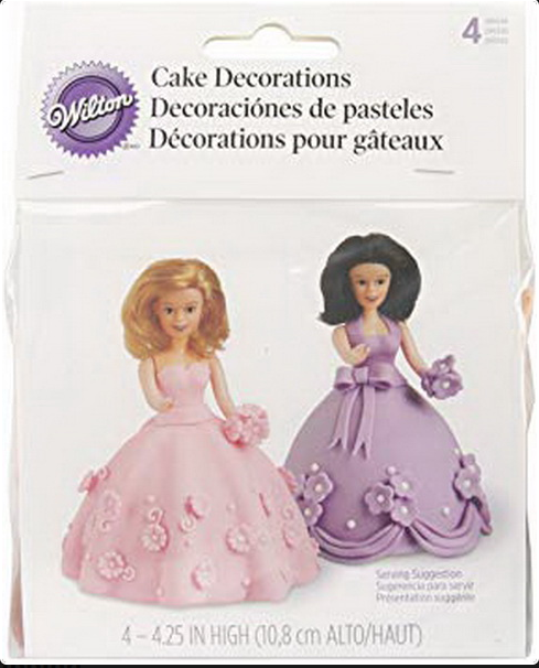 Mini Doll Pick Set, 4 pcs - H - 4.25 In