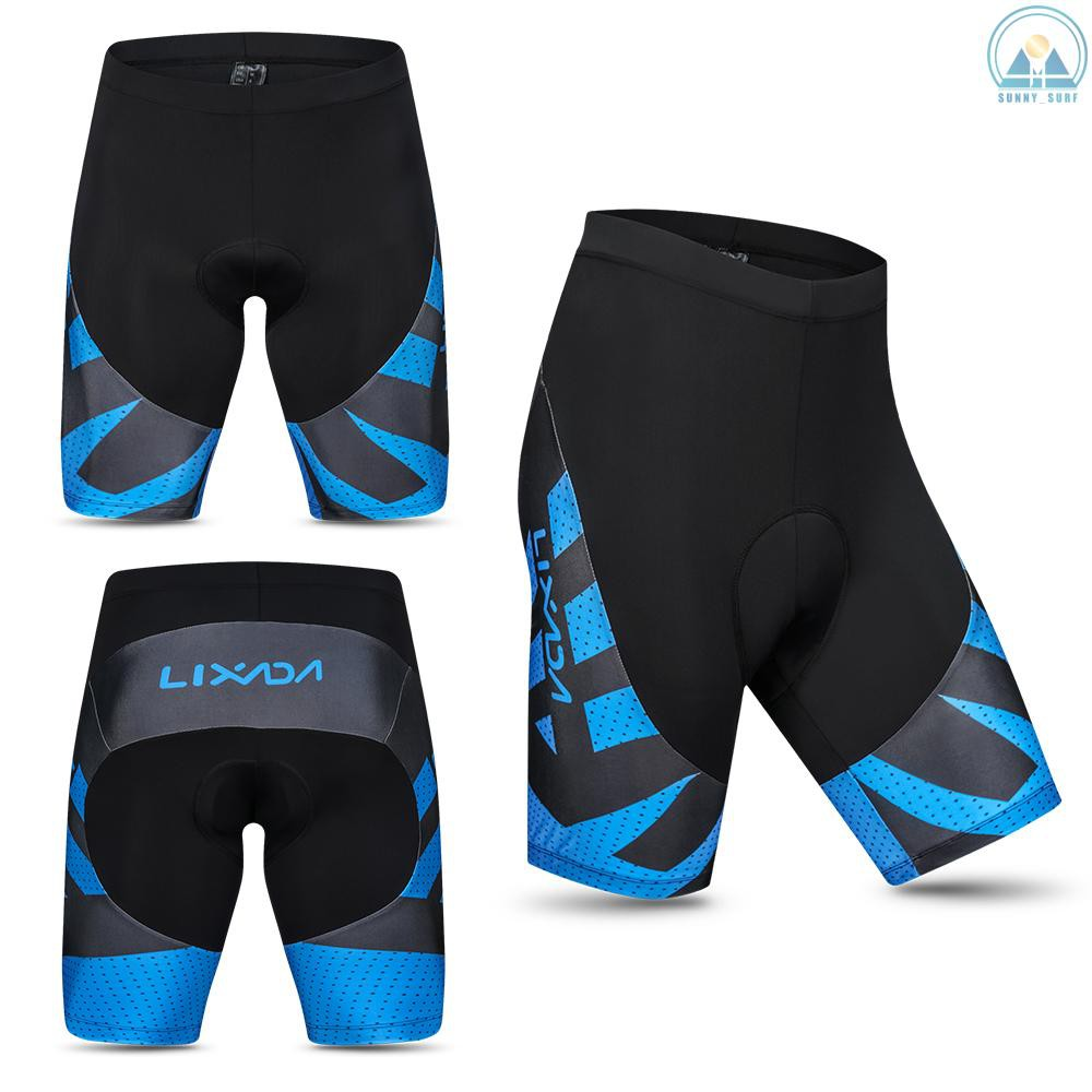 Men/'s 3D Padded Cycling Underwear Gel Bike Riding Shorts Pants Shorts M-XXL