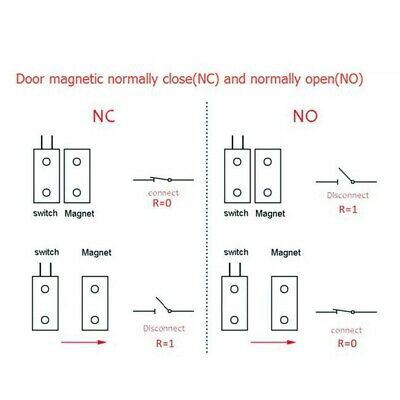 Mc 38 Door Window Magnetic Sensor Switch Wired Mc38 Shopee Malaysia