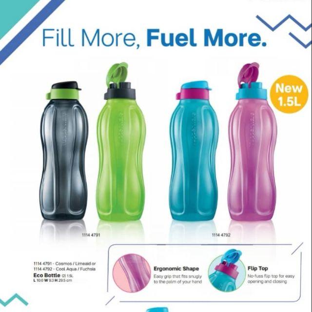 [TUPPERWARE] Eco Bottle 1.5L Botol air minuman Drinking bottle
