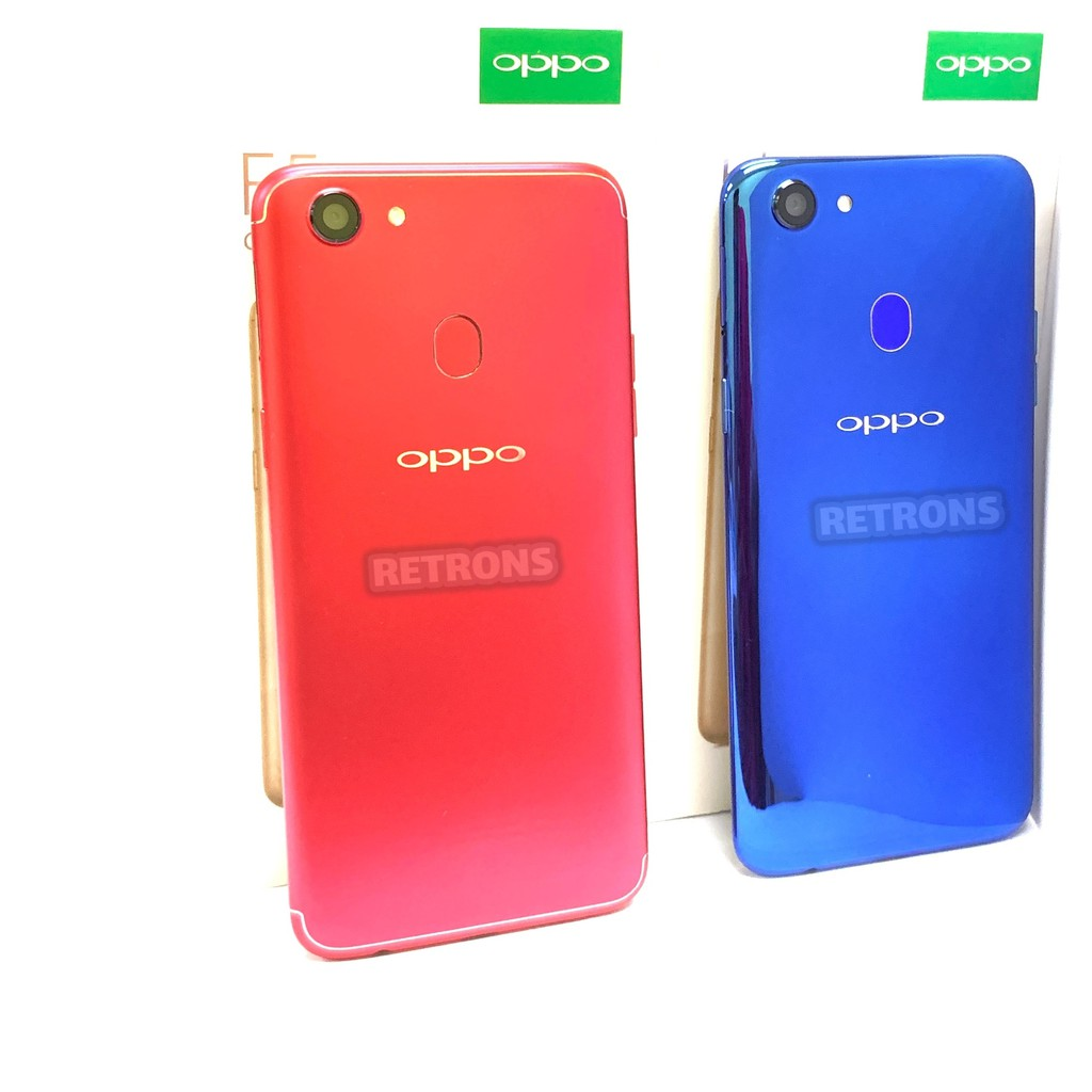 🇲🇾 Ori Oppo F5 32GB + 4GB RAM Special Limited Red & Blue Colour Edition Full Set [ 1 Month Warranty ]