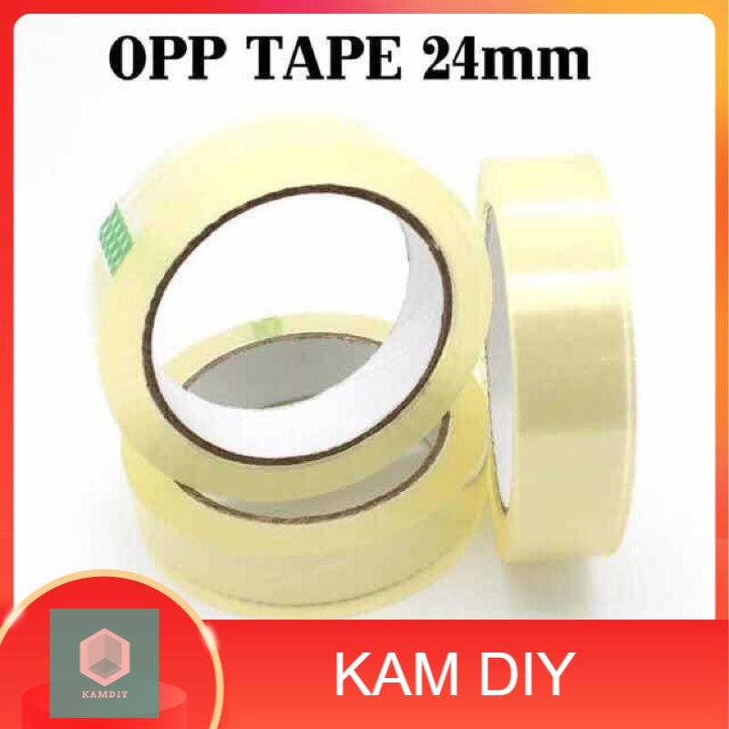 24mm x 40y OPP TAPE CLEAR COLOR