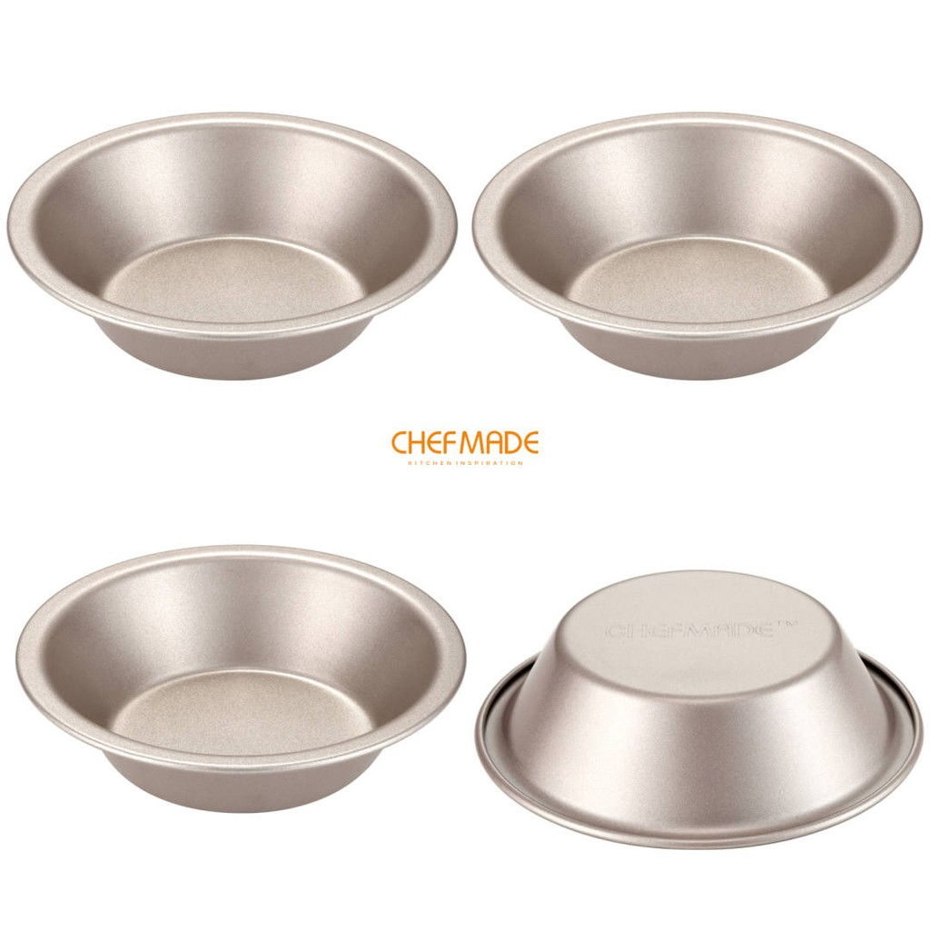 "Non-stick Round Cake Pan 8/"" 9/"" /& 10/"" Seamless Fixed Base Pie Dish Baking Tray"