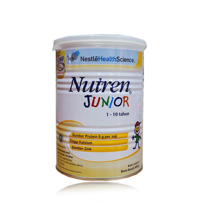 NUTREN JUNIOR MILK POWDER 400 G