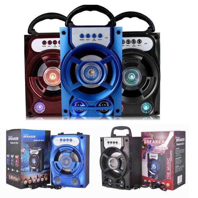Portable Wireless Bluetooth Speaker D-B13/ B15 / B16